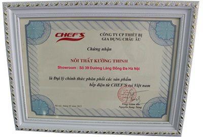Địa chỉ bán bếp từ Chefs uy tín giá rẻ tại Hà Nội