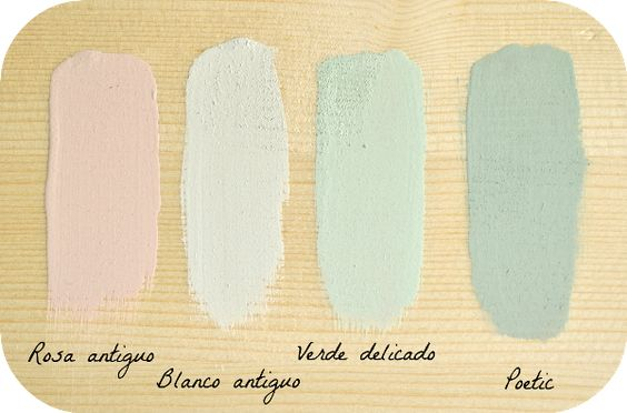 Combinar colores con la chalk paint
