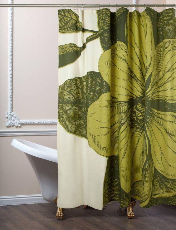 Botanical Shower Curtain - Thomas Paul | domino.com