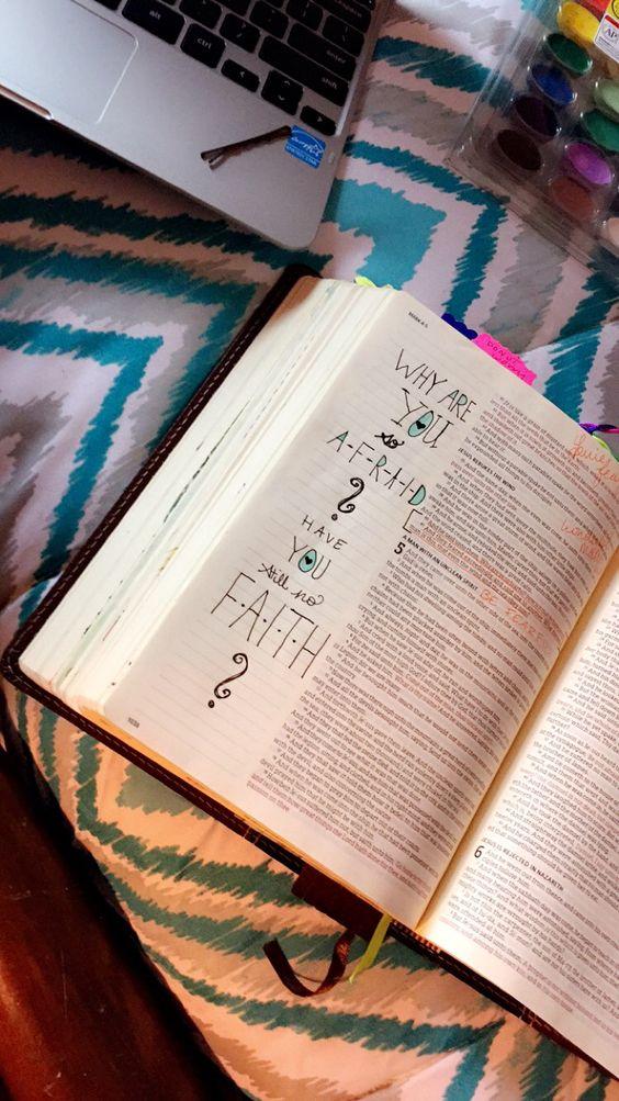 Mark 4: 40 & 41