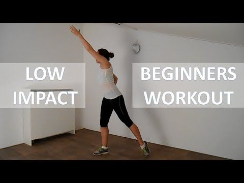 20 minute low impact workout for beginners  fat burning