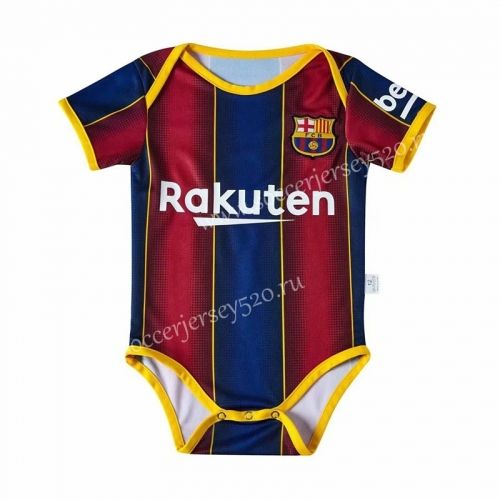 2020 2021 Barcelona Home Red Blue Baby Soccer Uniform In 2020 Soccer Uniforms Soccer Jersey Soccer Kits