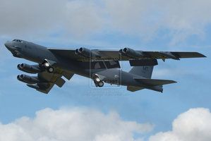 B-52H Stratofortress by Alexgeorge14