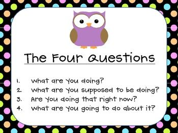 "Capturing Kids Hearts ""OWL"" Classroom Pack"