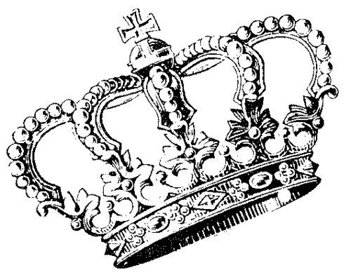Search crown drawing illustration black and white cute images
