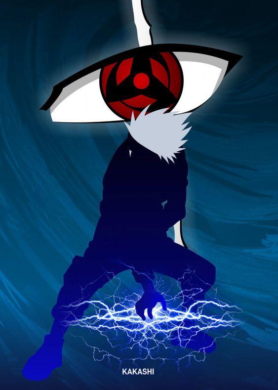 Kakashi Is One Of The Characters In The Naruto Anime Originally Named Kakashi Hatake He Is Among The Smar Naruto E Sasuke Desenho Olhos De Anime Anime Naruto