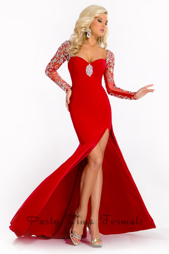 Party Time Pageant -red -pageant -dress - Rachel Allan - Pinterest ...