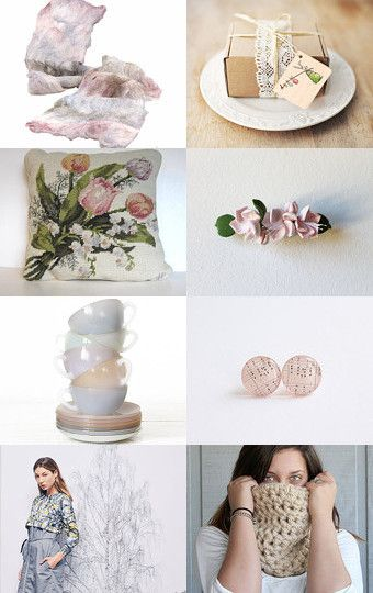 SPRING PASTELS by Georgia on Etsy