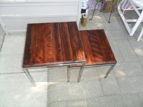 Pallet Nesting Tables