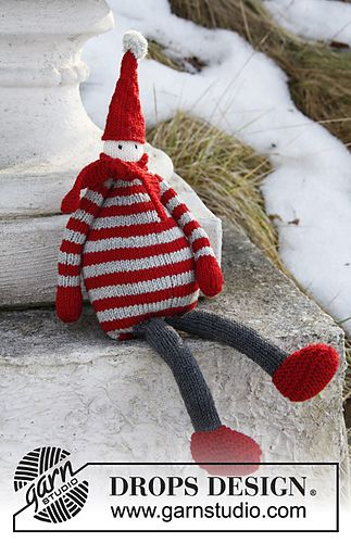Little Elf Knitting Pattern : Santa Baby FREE KNITTING PATTERN via Ravelry a cute ...