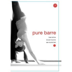 Pure Barre workout.