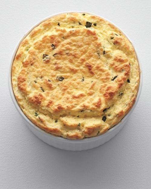 Herbed Ricotta Souffle - Whole Living Eat Well