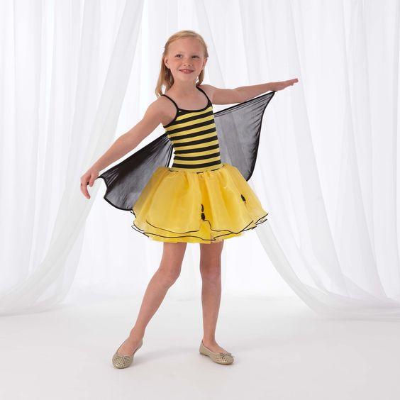 KidKraft Winged Bumblebee Dress Up Costume Toddler Girl's