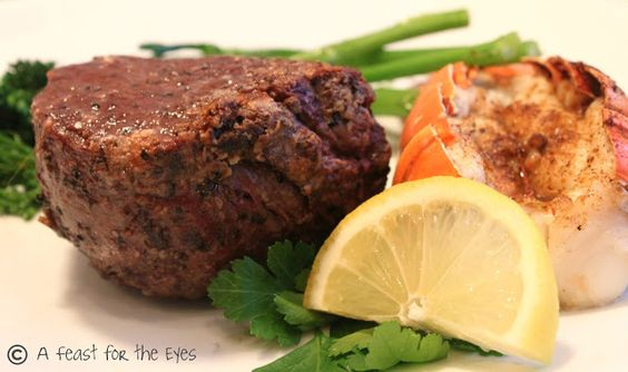 A Feast for the Eyes: Perfect Filet Mignon
