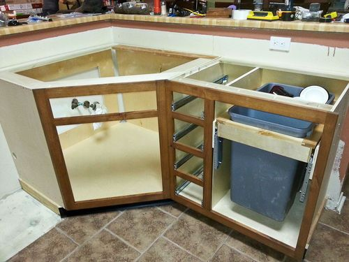 Diagonal Sink Base Cabinet - Google Search | The Farm | Pinterest ...