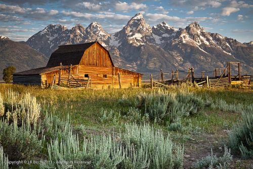 Moulton Barn, Antelope Flats - Grand Teton Nation Park, WY