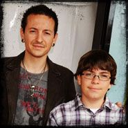 Linkin Park - Chester  and his son