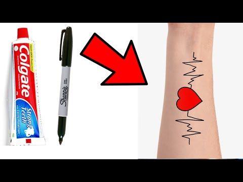 Como Hacer Tatuajes Faciles