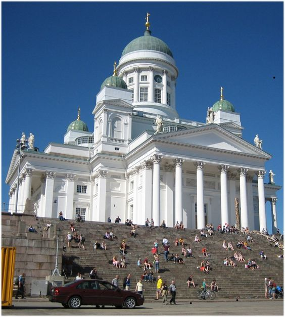 A picture of Helsinki Cathedral for this Friday's #Frifotos topic