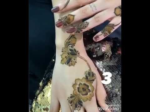 نقش حناااء اعراس للرائعه اموول Youtube Flower Tattoo Animal Tattoo Henna