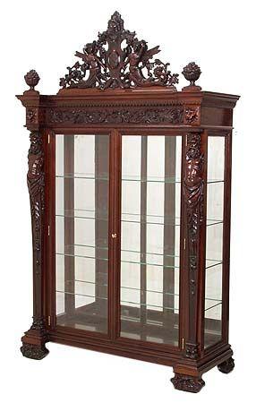 Antique Furniture, Antique China Cabinets, Antique Curio Cabinets, and  Antique Display Cabinets online