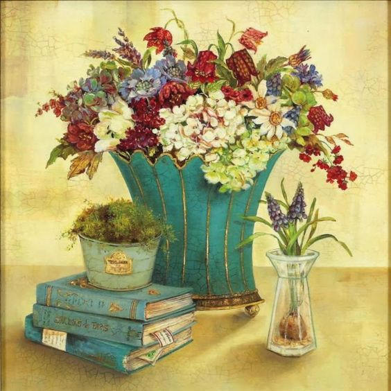Fine Art and You: Kathryn-White | British Painter | Decorative Flowers