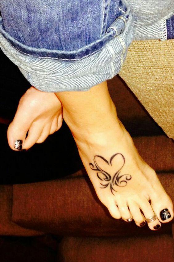 Tatuajes para el pie: