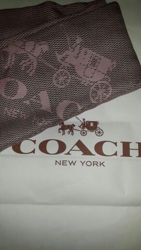 Pasmina#coach#pink