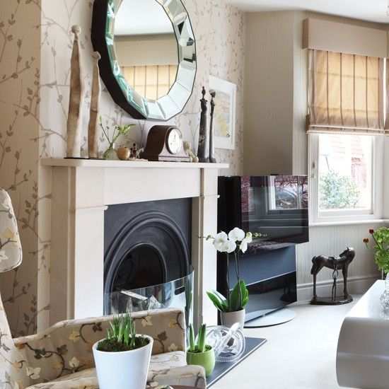 Luxurious neutral living room