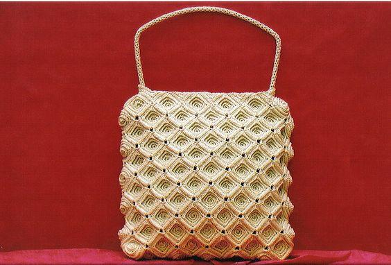 beautiful chrochet bag by Lara Koprivica