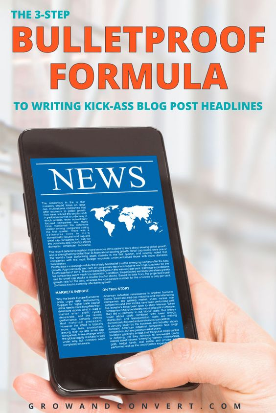 So glad I found this! One of my favorite articles ever on writing kick ass blog post headlines. This is definitely a bulletproof formula to use for content marketing.