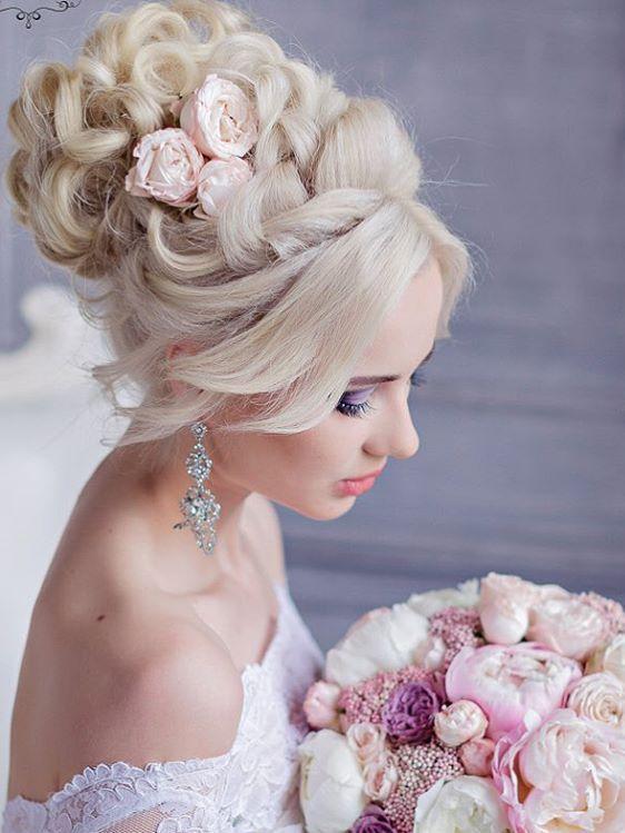 Long wedding hairstyles and wedding updos from Websalon Weddings / http://www.deerpearlflowers.com/websalon-weddings-wedding-hairstyles-and-updos/5/