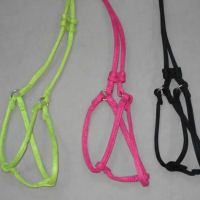 Rolled Microfiber Step-in Harness & Leash Set