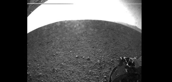 Curiosity's Early Views of Mars