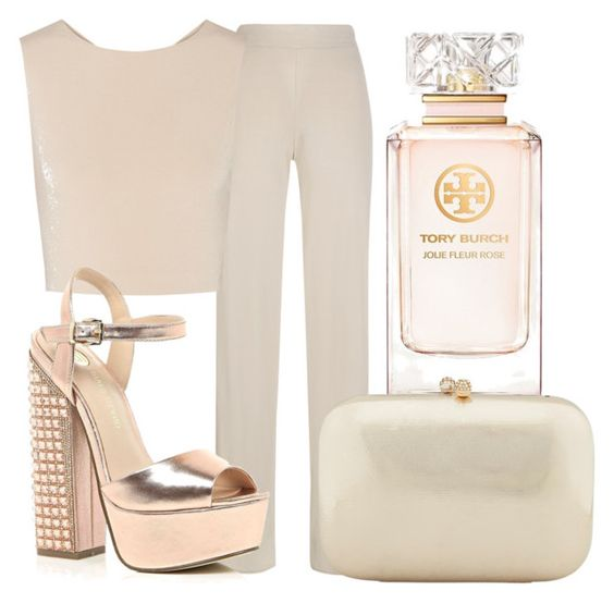 """""""Smell the roses"""" by lucieednie ❤ liked on Polyvore featuring My Love My Leggings, Alice + Olivia, River Island, Tory Burch, Serpui, women's clothing, women's fashion, women, female and woman"""