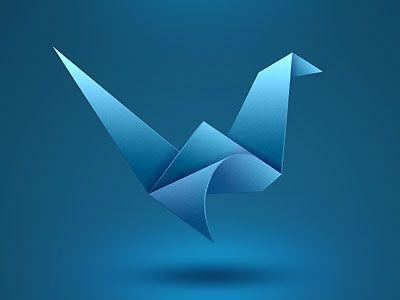 Logos like Origami Logo Designs are prominent presently.    Source: http://designmodo.com/origami-logo