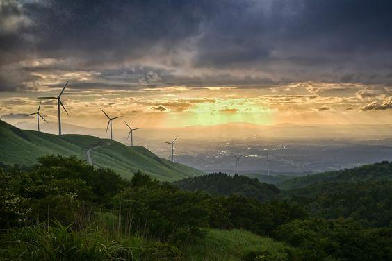 Japão vai triplicar produção de energia eólica nos próximos cinco anos