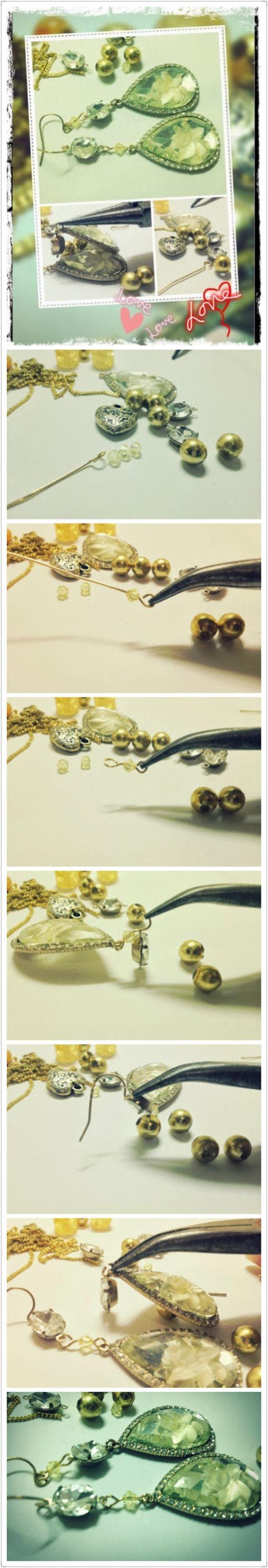 Yellow crystal earring  http://siusally.blogspot.hk/2013/12/salleeejewelry-golden-floral-earrings-w.html?m=1
