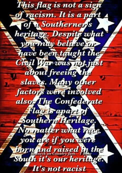 what does the confederate flag really stand for