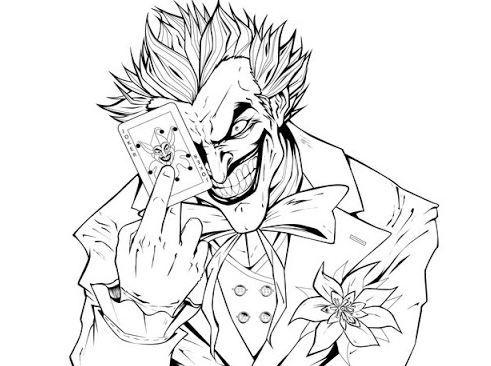 Joker Coloring Pages Batman Coloring Pages Superhero Coloring Pages Superhero Coloring