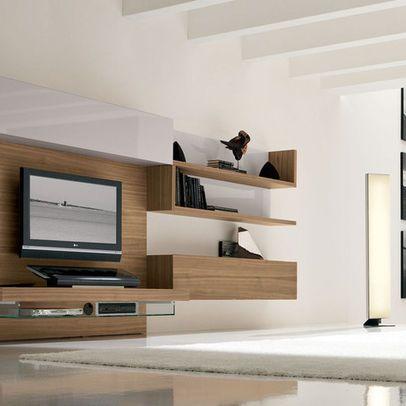 Bedroom tv tvs and tv unit design on pinterest - Modern tv units bedroom ...