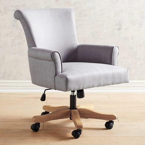 Brennon Sky Gray Swivel Desk Chair Cheap Office Chairs Luxury Office Chairs Swivel Chair Desk