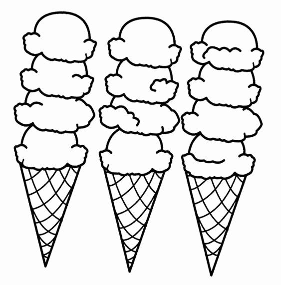 Icecream Cone Coloring Page Lovely Big Ice Cream Cones Coloring Page Cookie Pinterest Ice Cream Coloring Pages Coloring Pages Free Coloring Pages