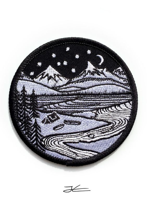 Home Is Where You Pitch It Embroidered Patch