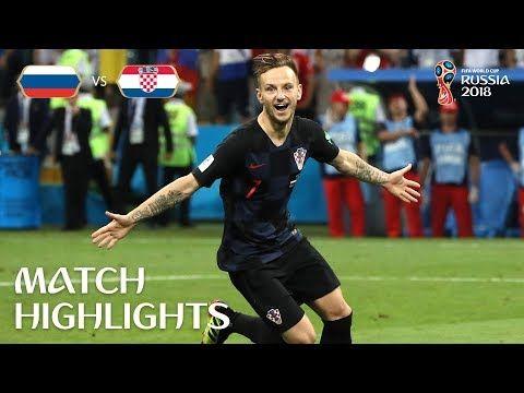 Russia V Croatia 2018 Fifa World Cup Russia Match 59 Youtube With Images World Cup Russia 2018 World Cup Croatia