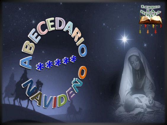 Leamos la BIBLIA: Abecedario Navideño
