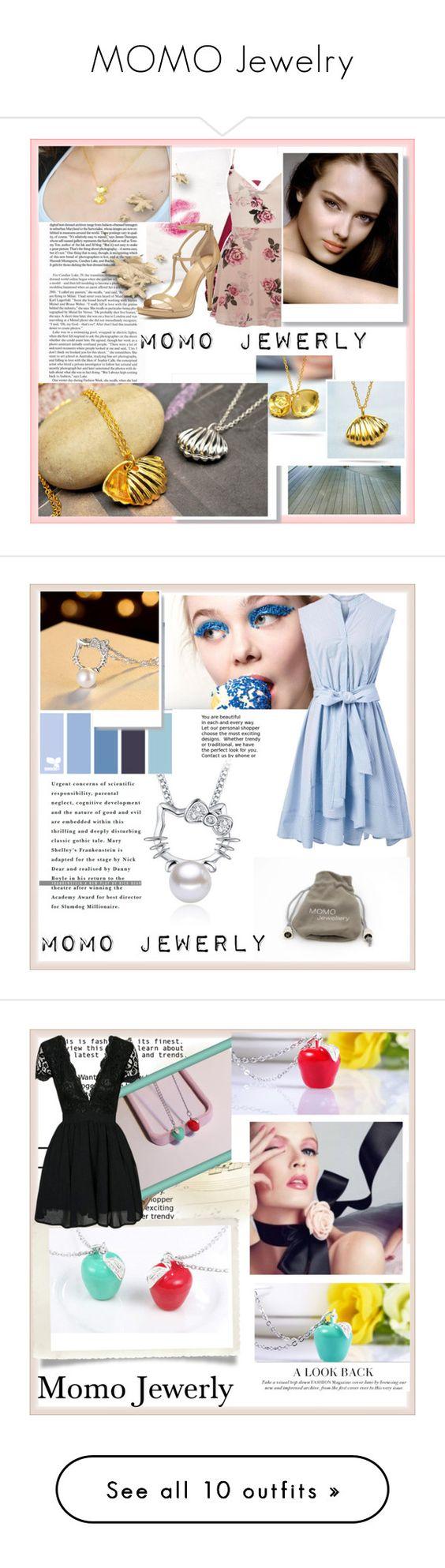 """MOMO Jewelry"" by damira-dlxv ❤ liked on Polyvore featuring Chanel, Lipsy, MICHAEL Michael Kors, Hello Kitty, Will Cotton, Chicwish, MoMo, FRACOMINA, John-Richard and Lattori"