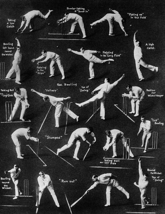 An old (Edwardian?) guide to cricket.