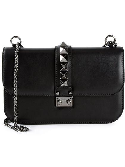 valentino noir wallet
