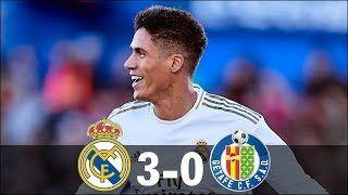 Real Madrid Vs Getafe 3 0 All Goals Extended Highlights